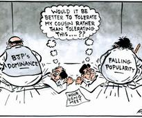 Political compulsion brings Thackeray cousins to talking terms!