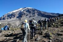 Mount Kilimanjaro porters receive hiking garments