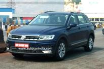 Volkswagen Tiguan SUV spied testing; India launch this year