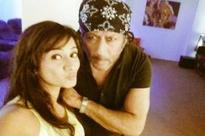What was Harshika doing with Jackie Shroff?