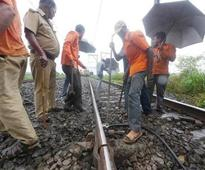 Crane crash: Train traffic gets back on track