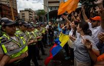 Opposition march for recall vote blocked in Venezuela