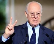 U.N. mediator not expecting quick breakthrough in Syria peace talks
