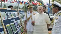 PM Modi witnesses operational demonstration at International Fleet Review