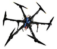 Drones survey paddy damage
