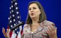 Nuland arriving in Kyiv on Monday 25.04.2016 20:15