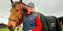 Equestrian: Ex-racehorse upstages large class