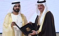 Khalid bin Abdulla receives Best Arab Sports Administrator award