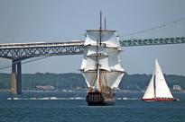 SSV Oliver Hazard Perry, Now Officially America's Newest Sail Training Ship