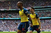 Arsenal thrash Aston Villa 4-0 to defend FA Cup title