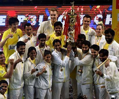 Chennai edge past Mumbai to win Premier Badminton League title