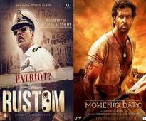 'Rustom,' 'Mohenjo Daro' overseas box office collection: Akshay Kumar's film continues to outshine Hrithik Roshan-starrer