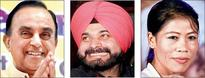 Swamy, Sidhu and Mary on RS list