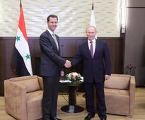 Putin hails Assad for 'fighting terrorists' : Kremlin