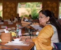 Save power: Rajasthan CM Raje to collectors