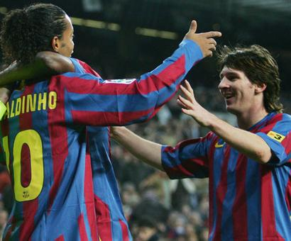 Messi is to Neymar, what I was to Messi: Ronaldinho