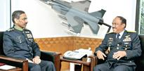 Indonesian air chief visits Air Headquarters