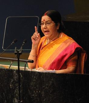 Sushma Swaraj's Twitter durbar