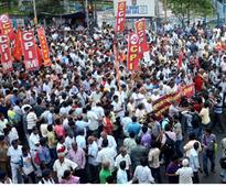 Left Front rally in Kolkata on Narada, Saradha issues