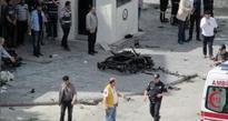 Turkey suicide car bomb blast  kills two, injures 23