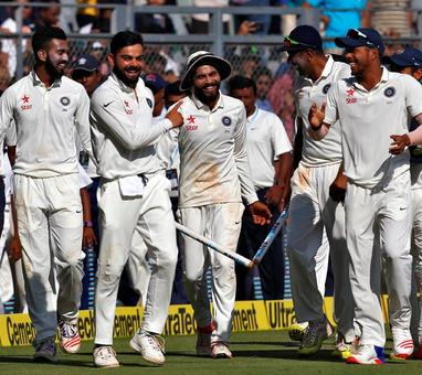 PHOTOS: India destroy England at Wankhede to clinch series 3-0