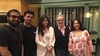 Richa Chadha, Fawad Khan and Anurag Kashyap