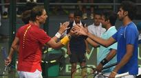 Davis Cup: Nadal-Lopez overcome Paes-Myneni challenge