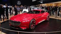 The Vision Mercedes Maybach 6 is 18 feet of wow video     - Roadshow