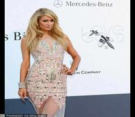 Cannes 2013: Paris Hilton sizzles in Falguni & Shane Peacock's creation at AmFar Gala