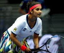 Australian Open: Sania Mirza And Rohan Bopann...
