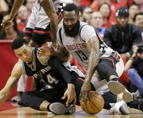 NBA playoffs: San Antonio Spurs humble Houston Rockets to enter Western Conference final