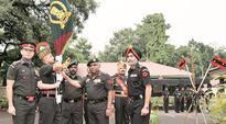 154 Infantry Battalion (TA) Bihar awarded