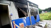 Armed forces charity pavilion torched in Carrington