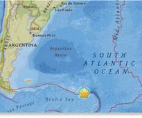 Massive 7.3 magnitude earthquake rocks South Georgia island