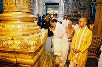 Vice President-elect Venkaiah Naidu offers prayers at Tirumala, thanks people for their support