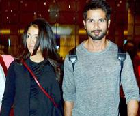 Shahid Kapoor feels protected when wife Mira is around