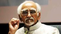 Hamid Ansari flags insecurity among minorities before stepping down as Vice-President