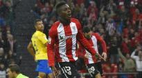 Spain-born Inaki Williams scores for Athletic Club in Copa del Rey