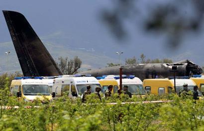 257 people killed in Algerian military plane crash