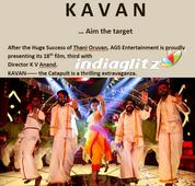 It is 'Kavan' after 'Thani Oruvan' for AGS Entertainment