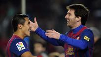 Alexis Sanchez recalls Leo Messi crying after Champions League exit to Chelsea