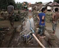 4 killed in Indonesia floods, landslides