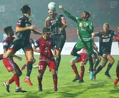 Sports Shorts: Jamshedpur play another goal-less draw in ISL 4