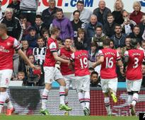 Arsenal Secure Champions League Spot: Laurent Koscielny Goal Sinks Newcastle, Tottenham (VIDEO)