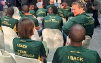 Minister urges Olympic athletes to help unite SA