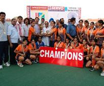 Haryana win 3rd Senior Women National hockey championship