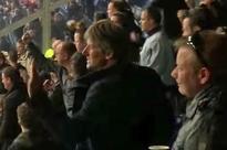 Watch Edwin van der Sar go BERSERK celebrating an Ajax goal in the away end