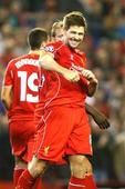 Gerrard says 'we did OK' after scoring last-gasp winner