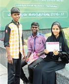 Super 9 of Ramnad govt school make it to med college
