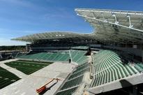 City celebrates new Mosaic Stadium substantial completion